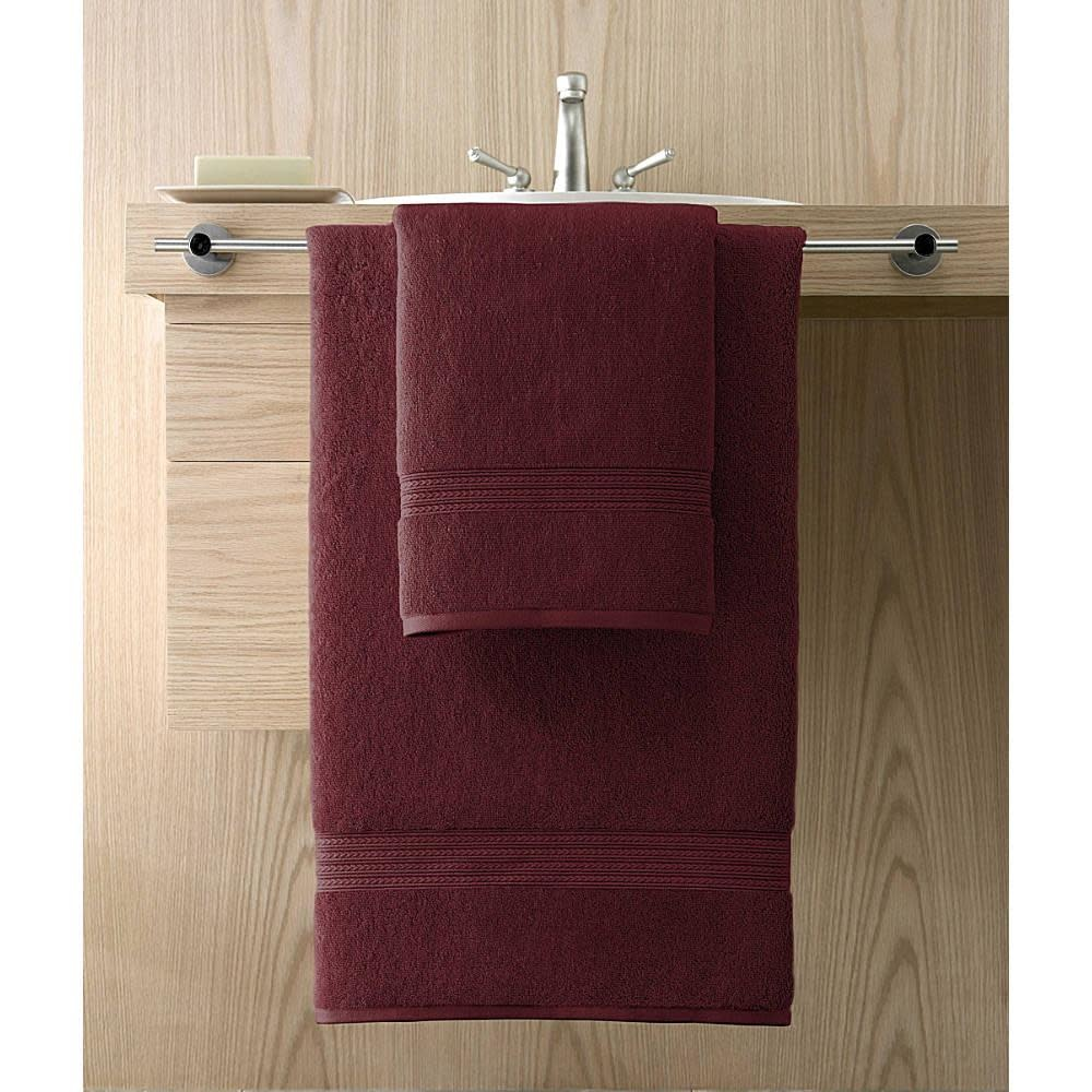 Kassatex Wash Towel - Kassadesign 12x12 - Garnet Red