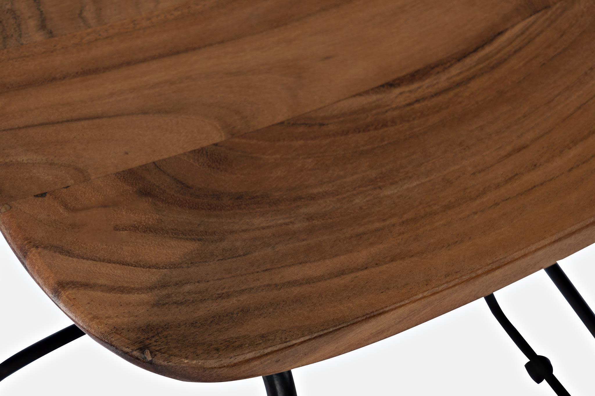 Jofran Natures Edge Light Chestnut Backless Counter Stool