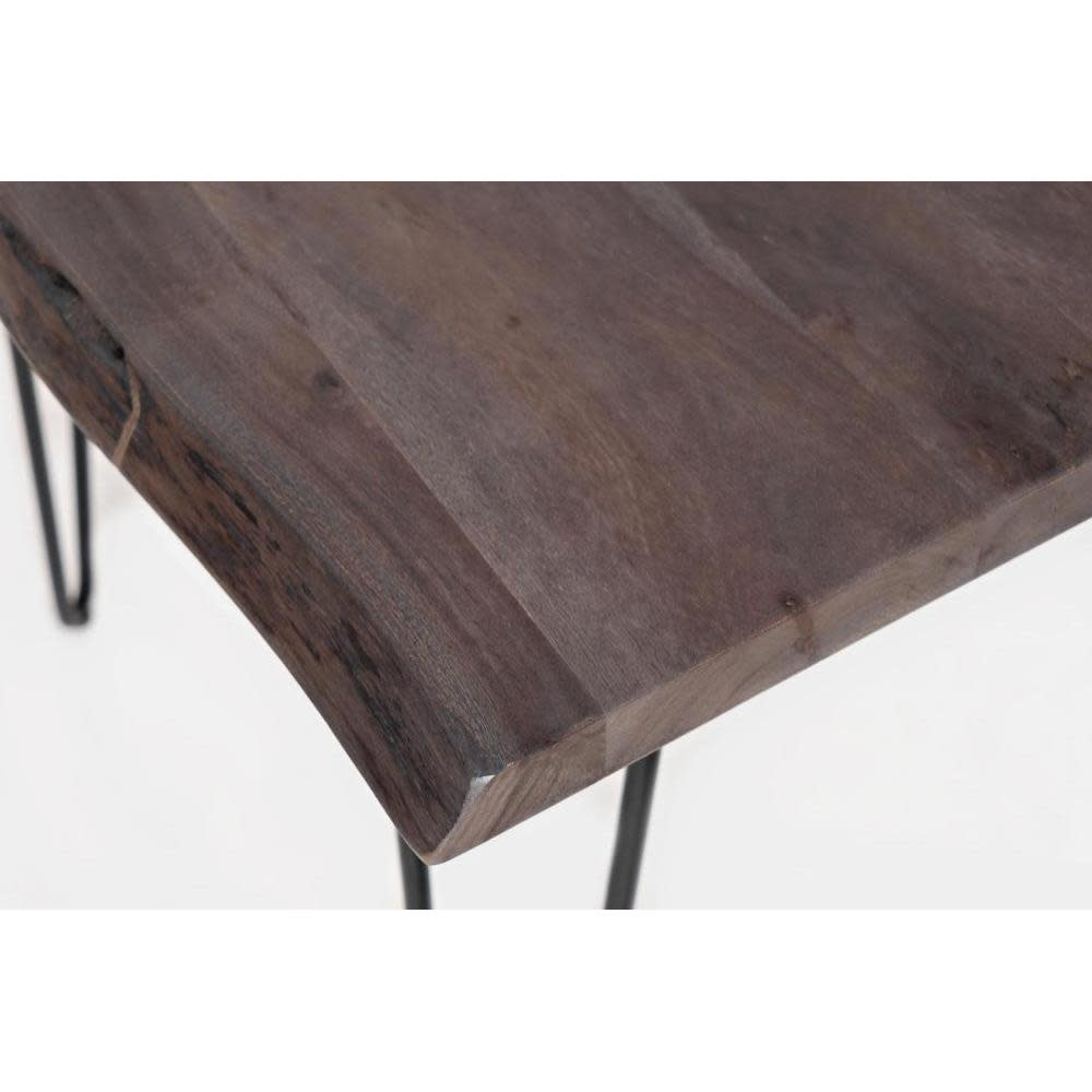 Jofran Natures Edge Brushed Grey Chairside Table