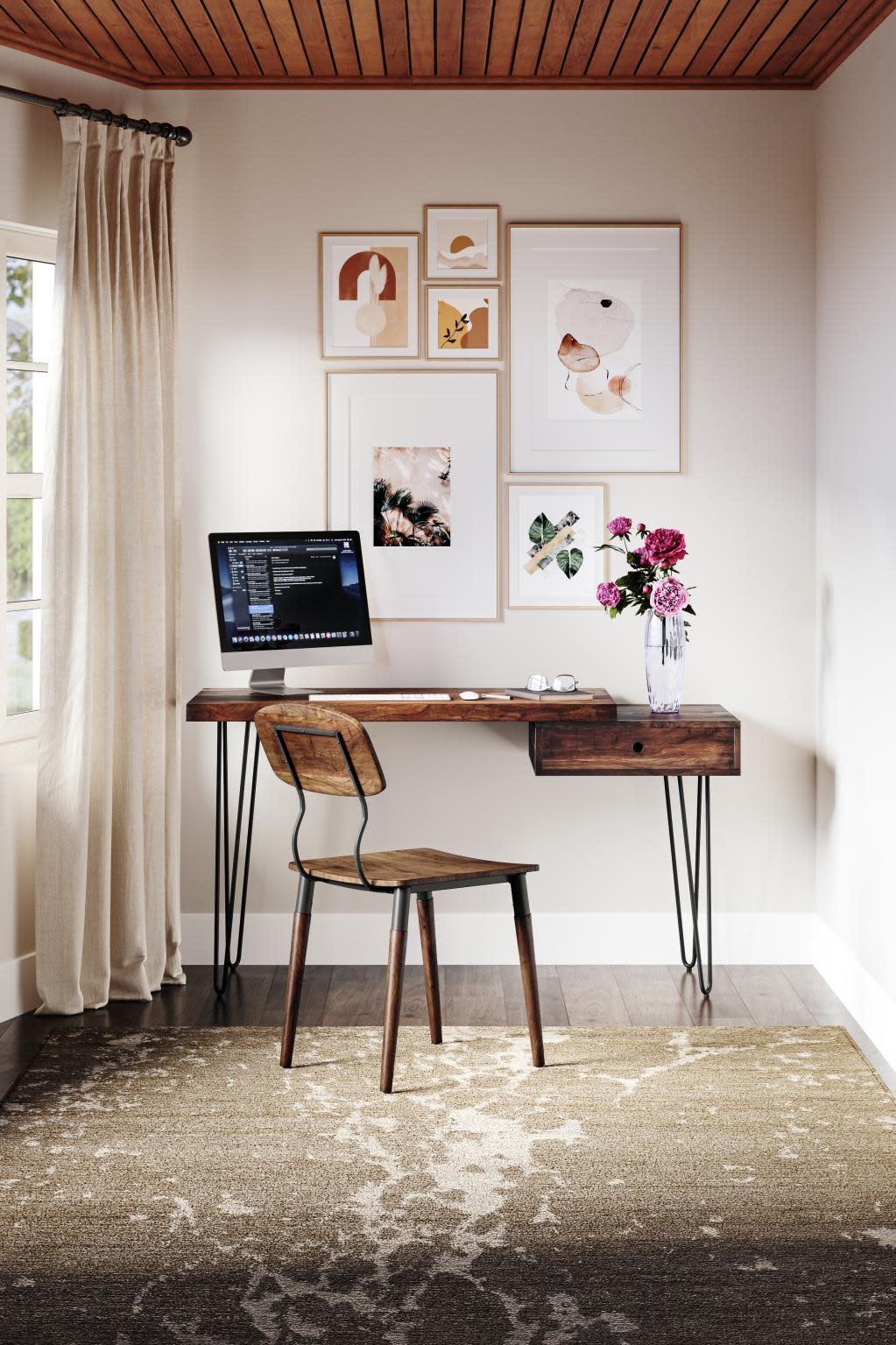 Jofran Natures Edge Desk Light Chestnut