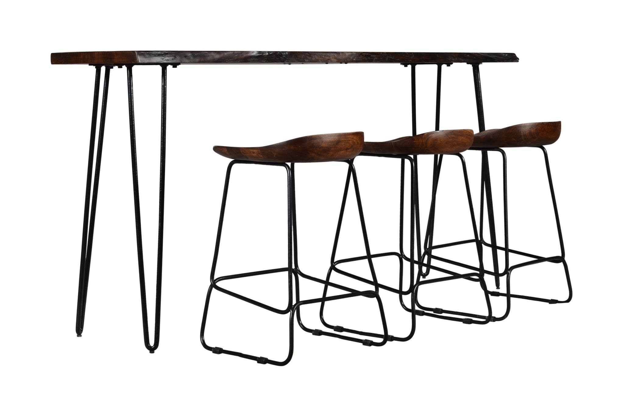 Jofran Natures Edge Light Chestnut Sofa Counter Table