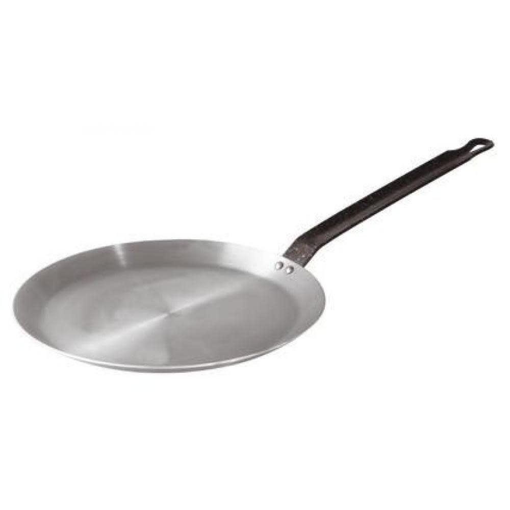 """BelleVie Black Carbon Steel Crepe Pan 10.25"""""""