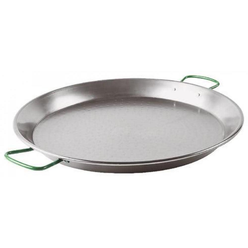 "BelleVie Spanish Hammered Carbon Steel Paella Pan 23 5/8"""