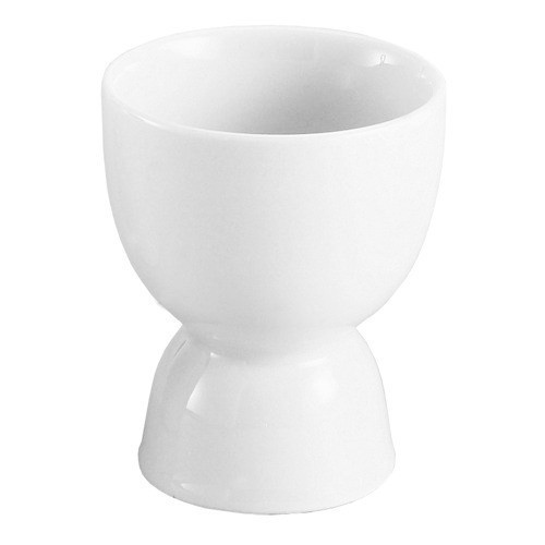 Harold Imports Co. Egg Holder Cup Hard-boiled Double-sided Ceramic