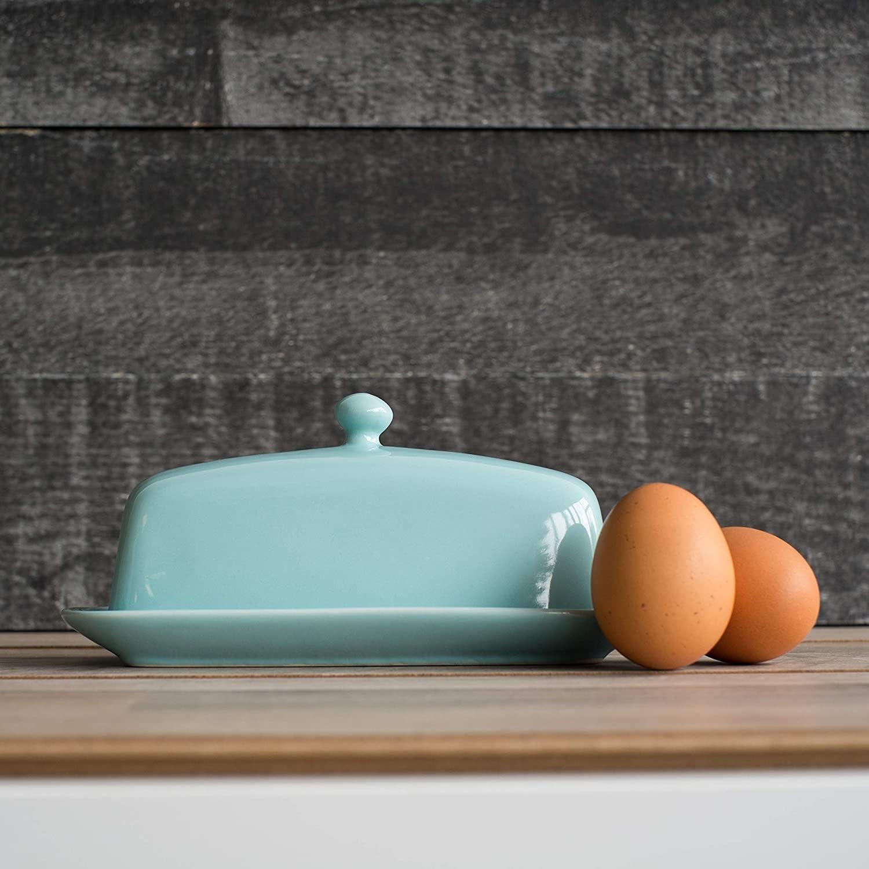 Now Designs Butter Dish - Eggshell Blue
