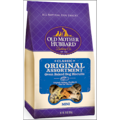 Pet Food Warehouse Dog Treat Old Mother Hubbard Mini Original Asst