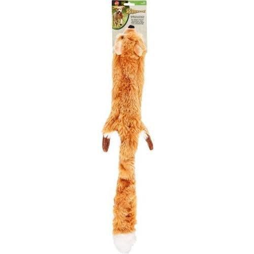 Pet Food Warehouse Dog Toy Unstuffed Skinneeez Fox 24in