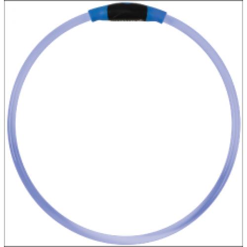 Pet Food Warehouse Dog Safety - Light Up Dog Safety Necklace, Blue