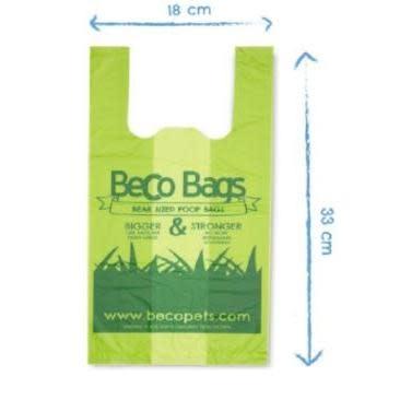 Pet Food Warehouse Dog Waste Bags Beco 120ct Handled Bigger Bag Unscented