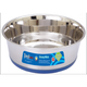 Pet Food Warehouse Food Bowl Stainless Steel Dish With Rubber Base 1qt