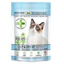 Pet Food Warehouse Cat CBD Hempvet Calm & Comfort 30ct