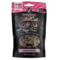 Pet Food Warehouse Cat Treat Vital Essentials Freeze Dried Chicken Giblets 1oz