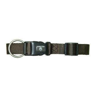 Pet Food Warehouse Dog Collar  12-18in Brown