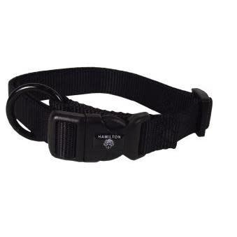 Pet Food Warehouse Dog Collar 12-18in Black