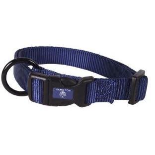 Pet Food Warehouse Dog Collar 18-26in Navy