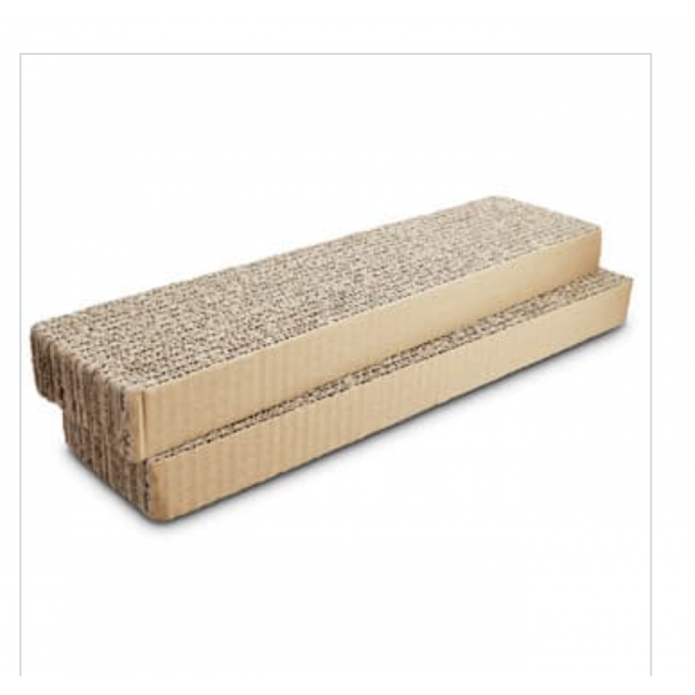 Pet Food Warehouse Cat Toy Scratch Pad Single with Catnip