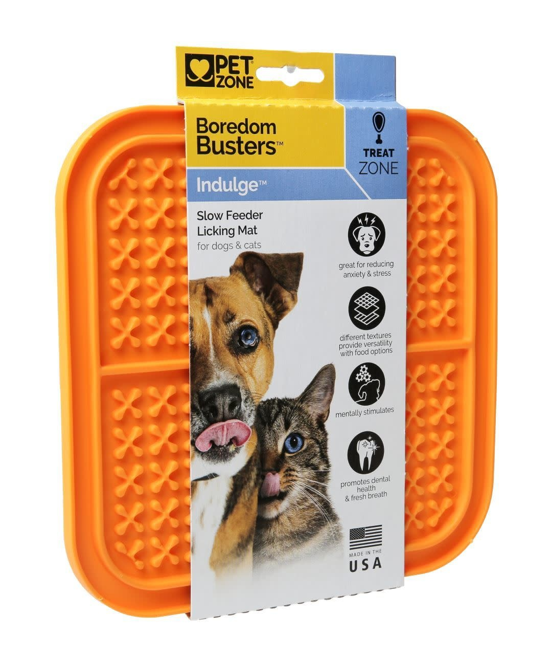 Pet Food Warehouse Food Accessory Boredom Buster Indulge Orange