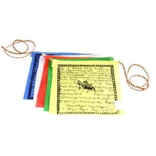 "US Sherpa Prayer Flag Small 5 Piece 4x4.5"""