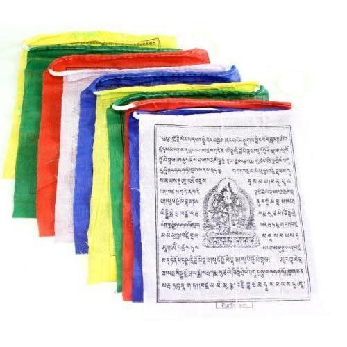 "US Sherpa Prayer Flag Medium 10 Pieces 5.5x6"""