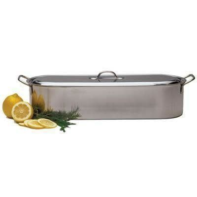 RSVP Cookware Fish Poacher Stainless Steel 18in
