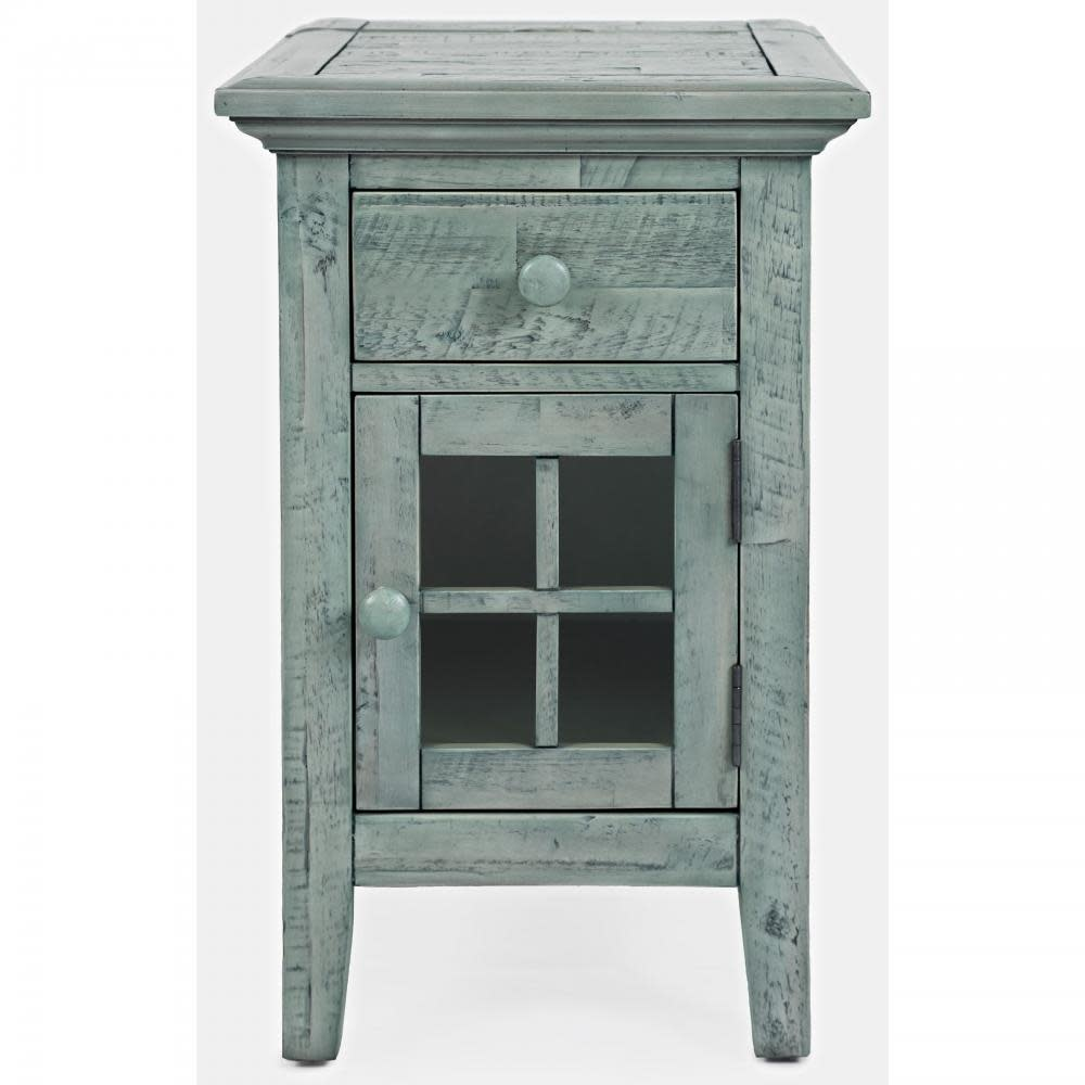 Jofran Rustic Shores Chairside Table Surfside