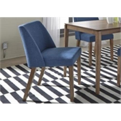Liberty Home Furnishings Spacesaver Group Nido Dining Or Accent Chair Blue