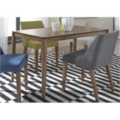 Liberty Home Furnishings Spacesaver Group Rectangular Leg Dining Table