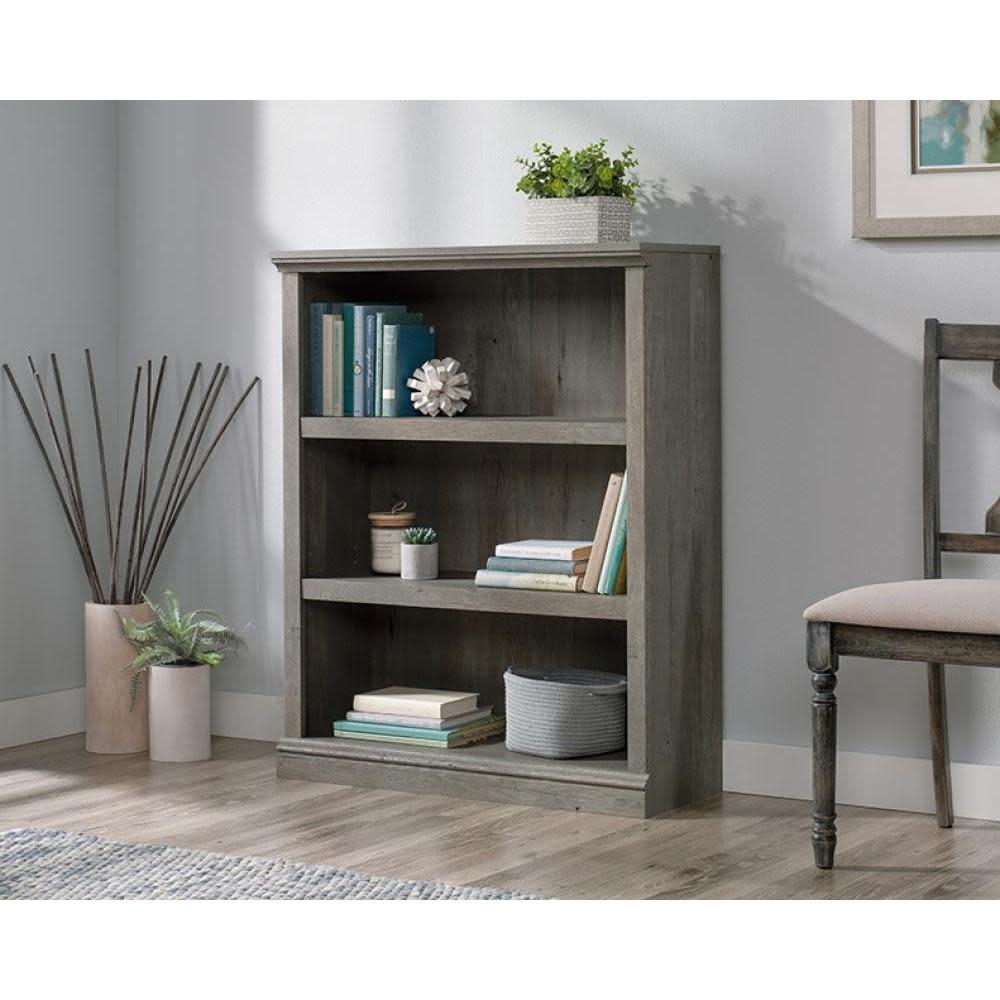 Sauder Sauder Select Bookcase Mystic Oak Finish Three Shelf
