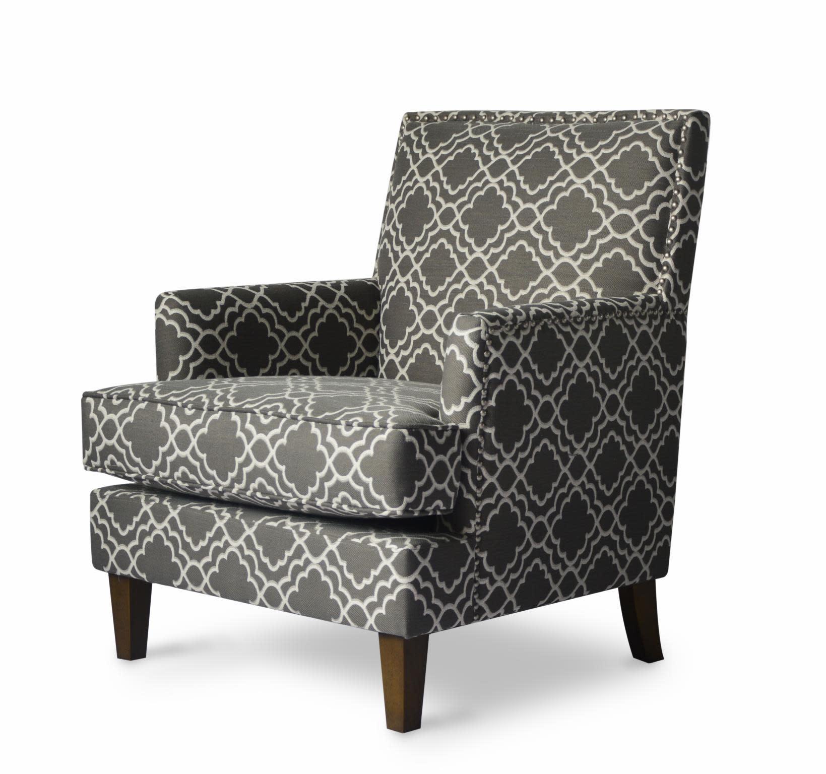 Jofran Aubrey Accent Chair Granite