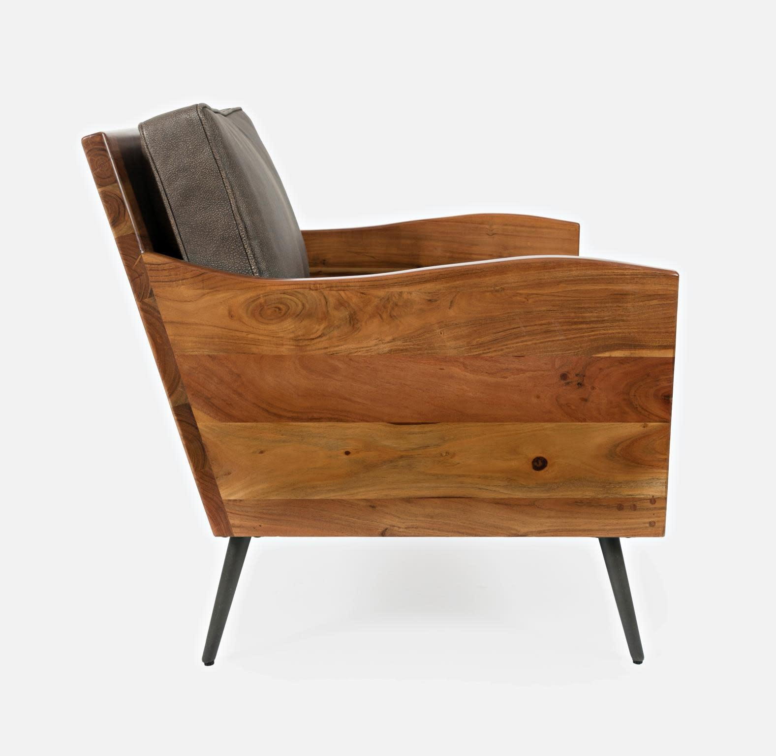 Jofran Karma Accent Chair Bourbon