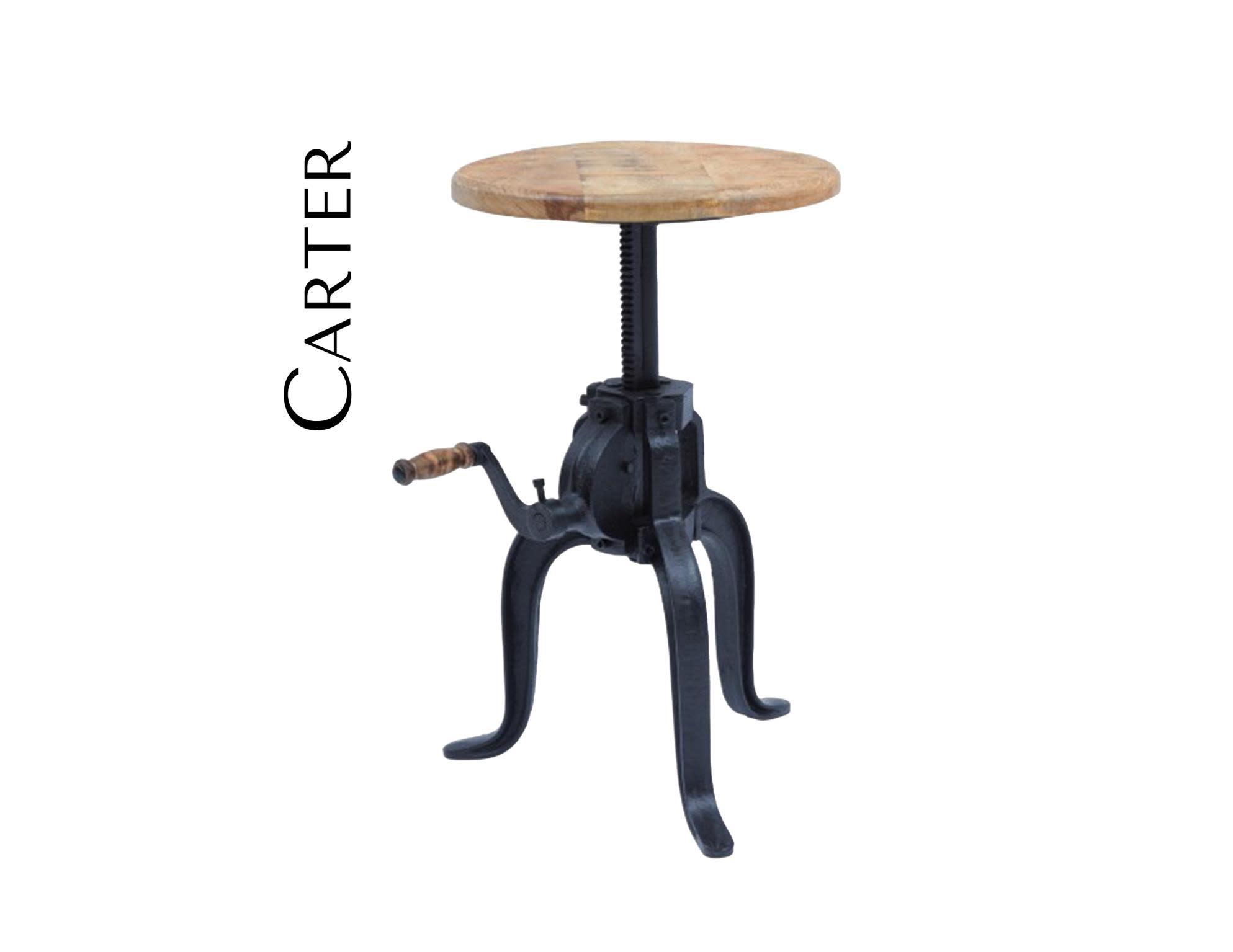 Jofran Global Archive Carter Industrial Crank Table