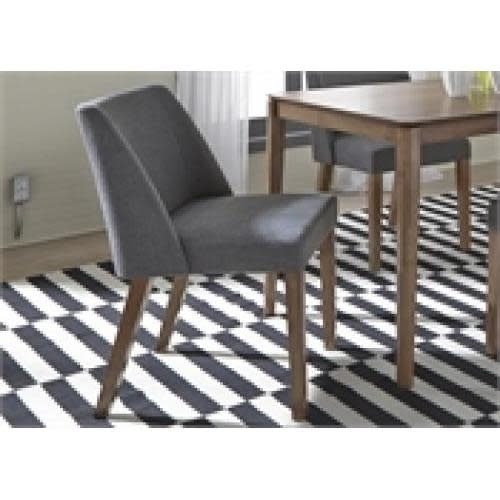 Liberty Home Furnishings Spacesaver Group Nido Dining Or Accent Chair Grey