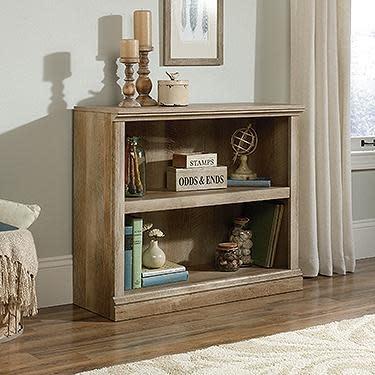 Sauder Sauder Select Bookcase Lintel Oak Finish Two Shelf