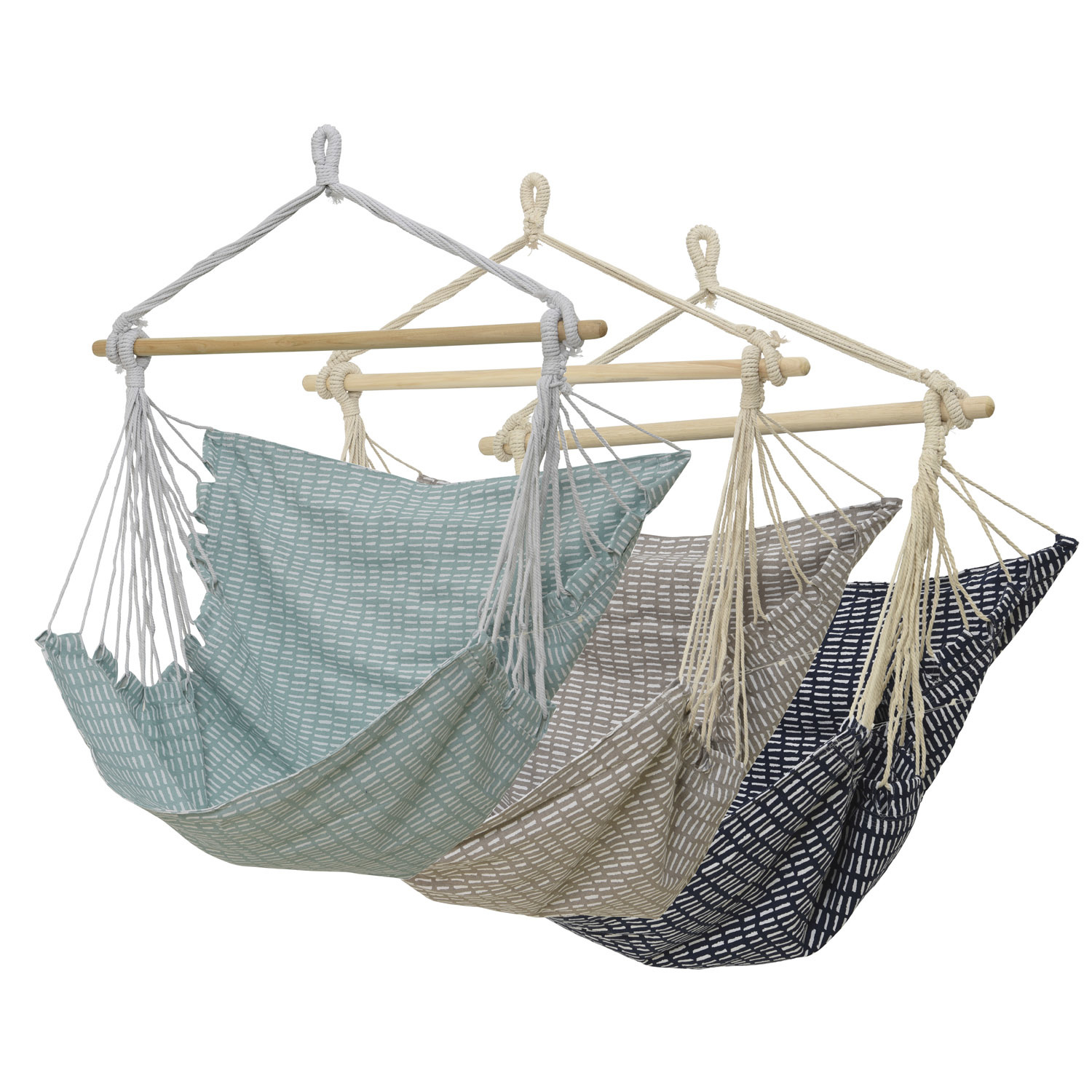 Evergreen Everyday Patterned Hammock Chair