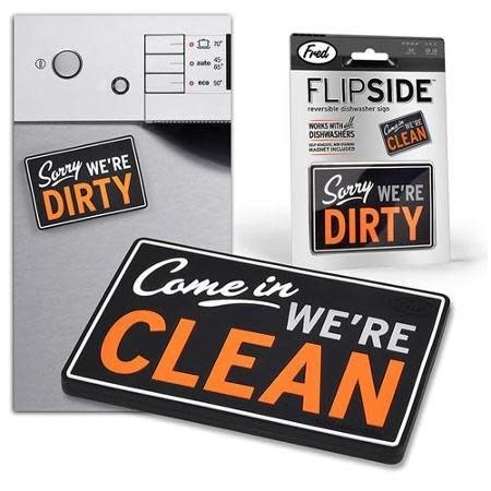 Fred & Friends Flipside Dishwasher Magnet