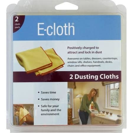 E-Cloth Cleaning Supplies - 2 Dusting Cloths