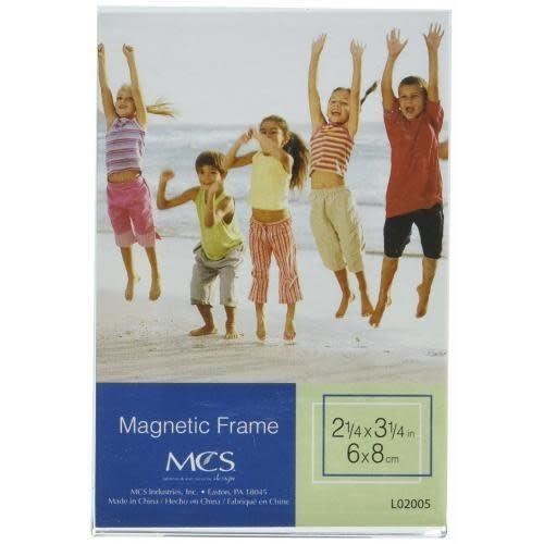 MCS Magnet Frame Acrylic 2.25 X 3.25