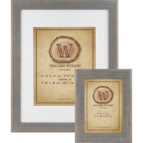 MCS Table Top Frame Walden Woods Retreat Weathered Grey 5 X 7