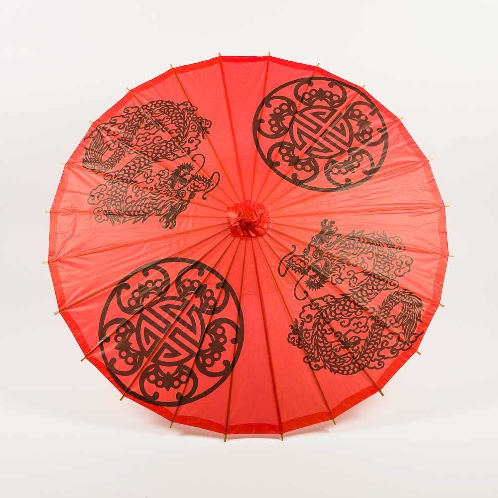 Asian Import Store Parasol Paper Double Happiness 32in