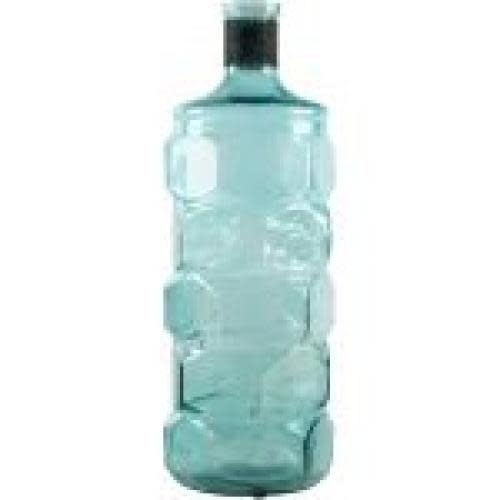 Home Essentials & Beyond Vase Bottle Turquoise 16in