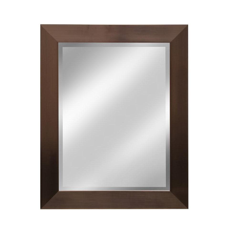 Stylecraft Mirror Rectangle Bronze Finish 23.25in X 29in Overall