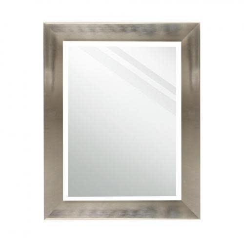 Stylecraft Mirror Rectangle Stainless Steel Finish 23.25in X 29in Overall