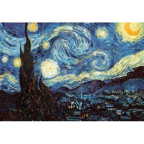 Pyramid America Poster - 24inx36in Van Gogh: Starry Night