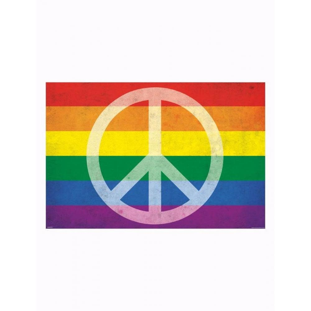 Pyramid America Poster - 24inx36in Pride and Peace
