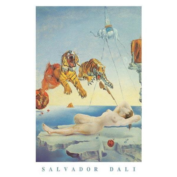 Pyramid America Poster - 24inx36in Dali: Dream Caused By A Bee Flight