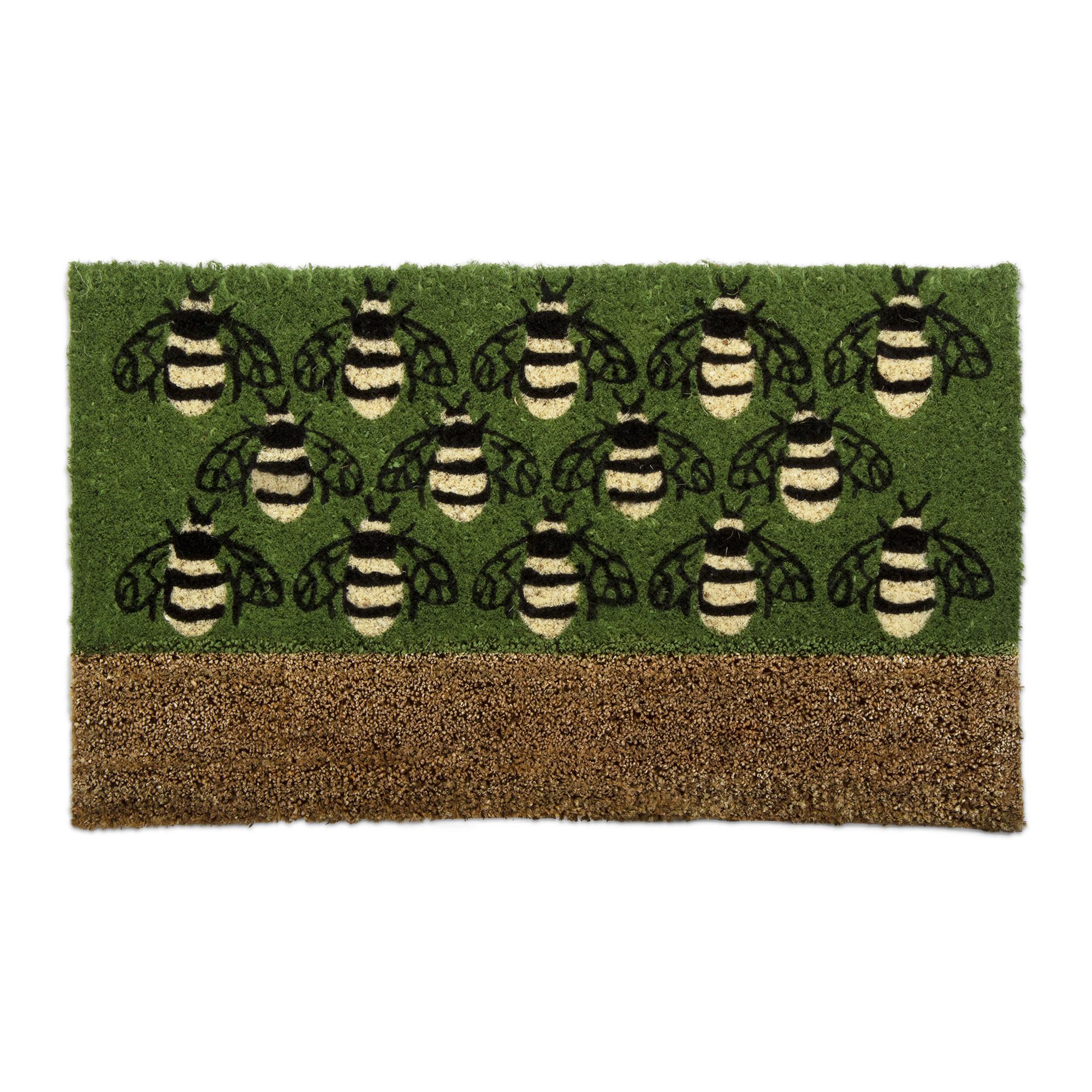 Tag Busy Bees Boot Scrape Coir Mat