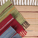"""CLM Style Canyon Stripe 28"""" X 84"""" Rug Runner Red"""