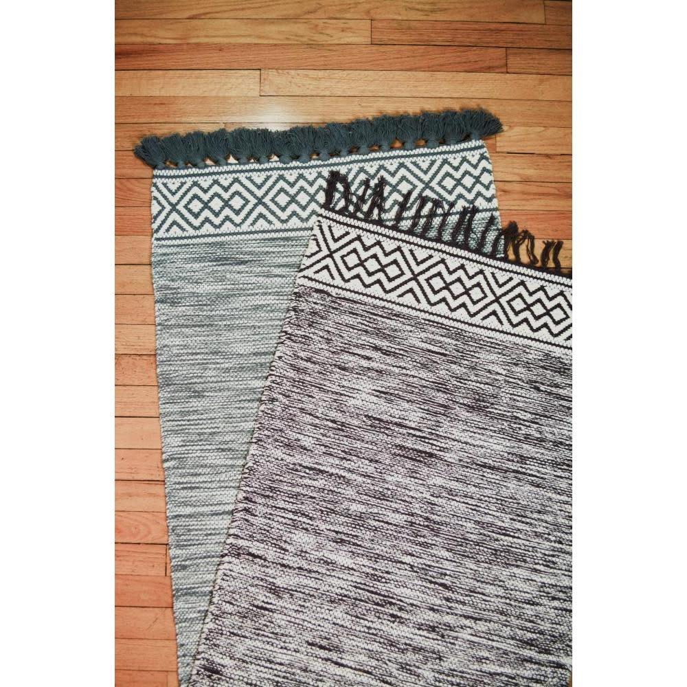 CLM Style Zena Rug Grey 2' X 3'