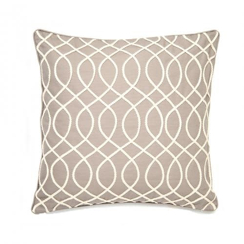 Levtex Home Rope Light Grey Pillow 20inx 20in