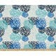 Burroughs Body Pillow 18 X 48 Premier Blooms Blue Vista (Outdoor)